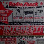 Radio Shack Advertisement