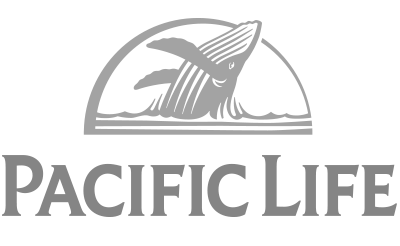 Pac Life Logo Grayscale