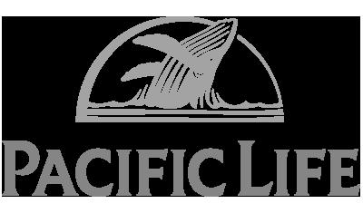 Pac Life Logo Grayscale