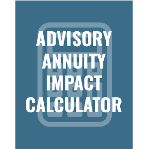 Advisory Annuity Impact Calculator